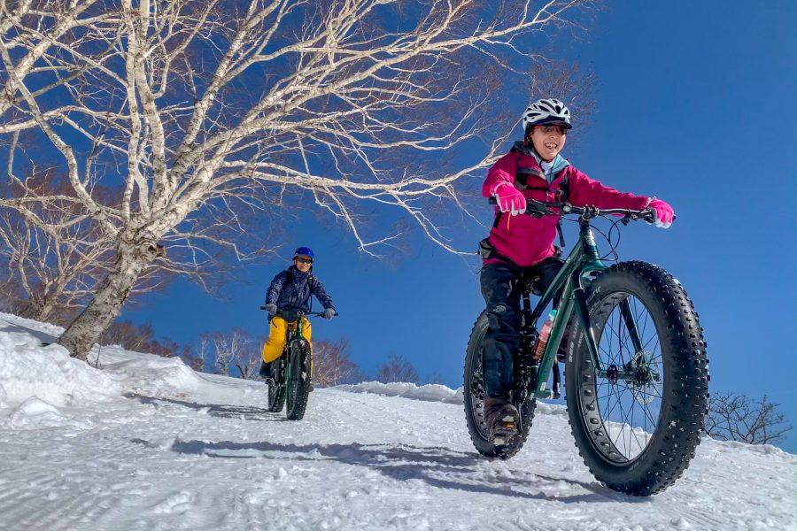 【Ride Experience】全て貸切!那須岳スノーサイクリングツアー開催中!
